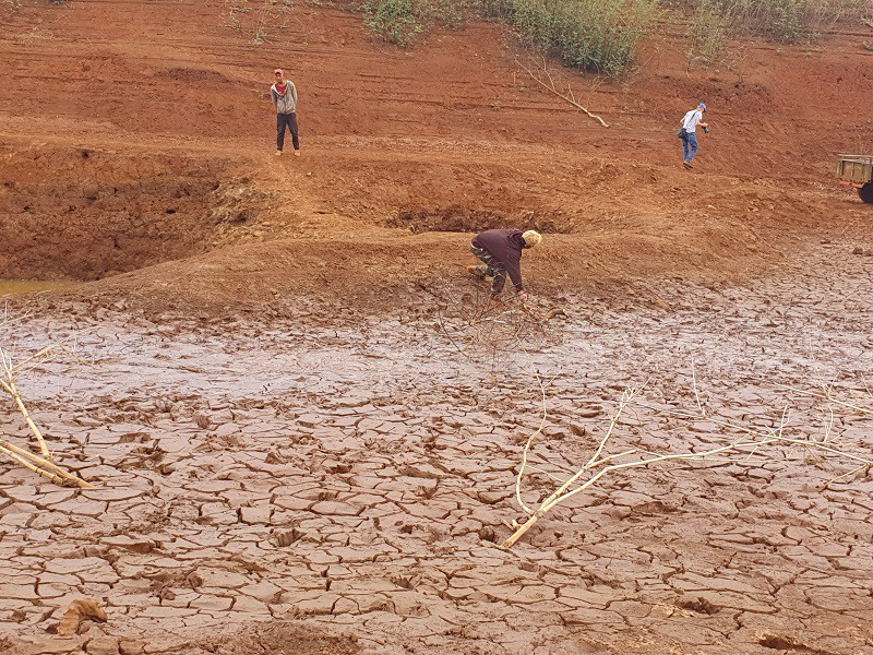 Đập, hồ trơ đáy, nứt toác ở Đắk Lắk, Gia Lai - ảnh 2