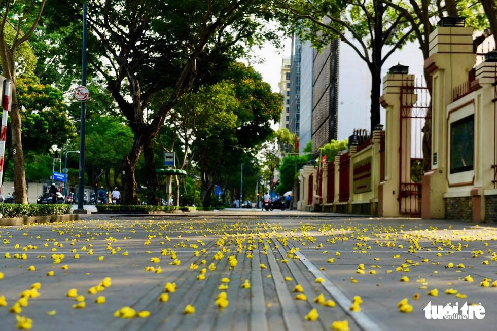 Sài Gòn vắng lặng khác lạ trong ngày đầu cách ly toàn xã hội - Ảnh 10.