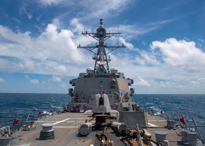 Trung Quốc phóng tên lửa ra Biển Đông, Mỹ lập tức điều tàu chiến tới Hoàng Sa - 1