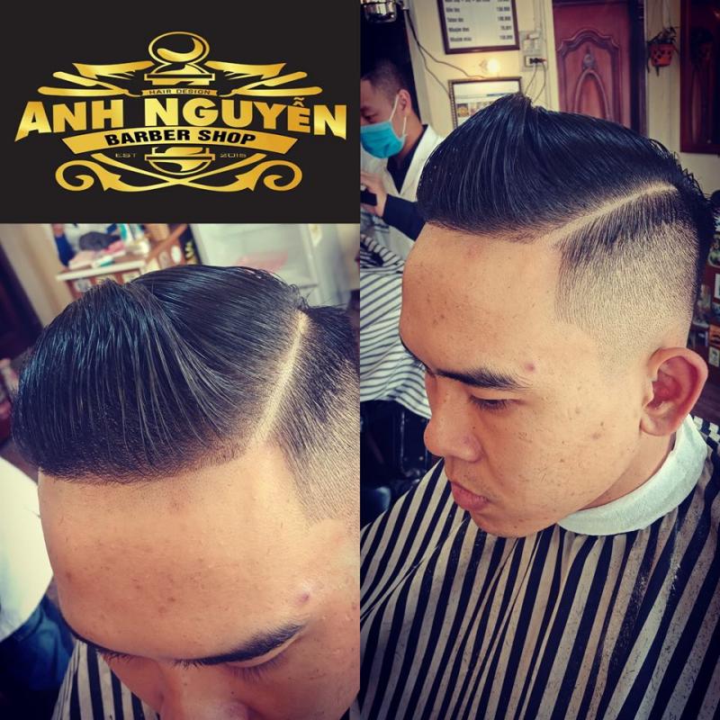 Barbershop Anh Nguyễn cắt tóc nam đẹp và chất lượng nhất Gia Lai