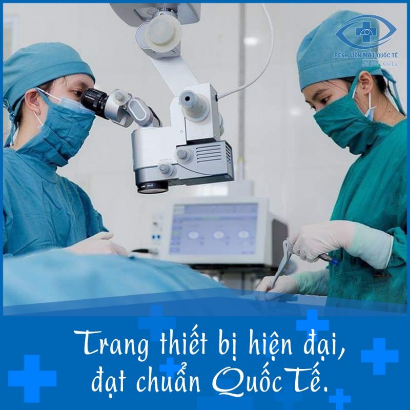 Bệnh Viện Mắt Quốc Tế Sài Gòn khám mắt uy tín nhất TP. Pleiku, Gia Lai