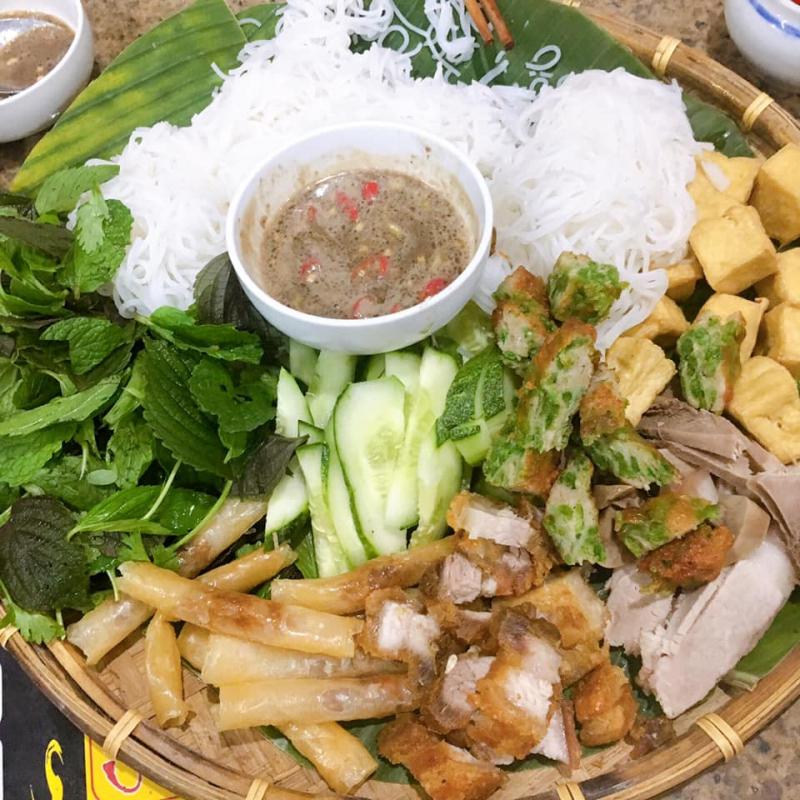 Bún Đậu Mắm Tôm Bà Bèo quán bún đậu mắm tôm ngon và chất lượng nhất An Khê, Gia Lai