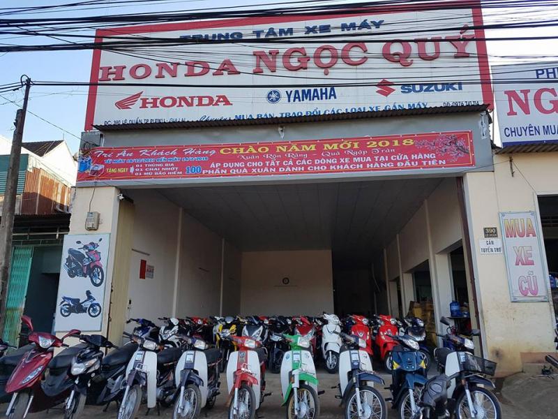 Cửa Hàng Xe Máy Ngọc Quý sửa xe máy uy tín nhất TP. Pleiku, Gia Lai