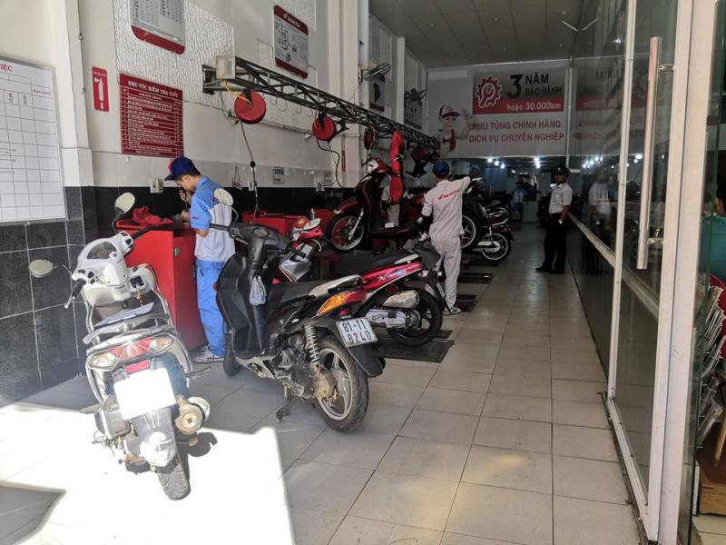 Honda Nam Long sửa xe máy uy tín nhất TP. Pleiku, Gia Lai