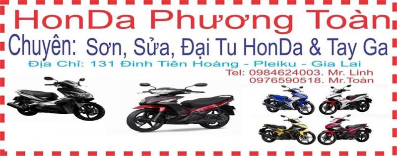 Honda Phương Toàn sửa xe máy uy tín nhất TP. Pleiku, Gia Lai