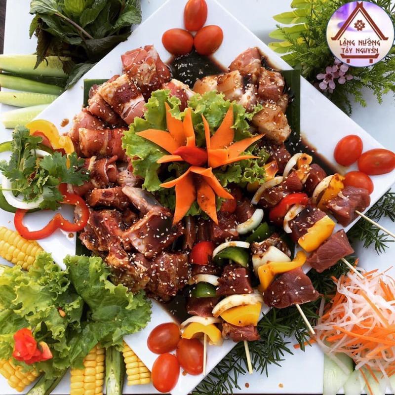 Làng Nướng Tây Nguyên nhà hàng ngon nhất tại TP. Pleiku, Gia Lai