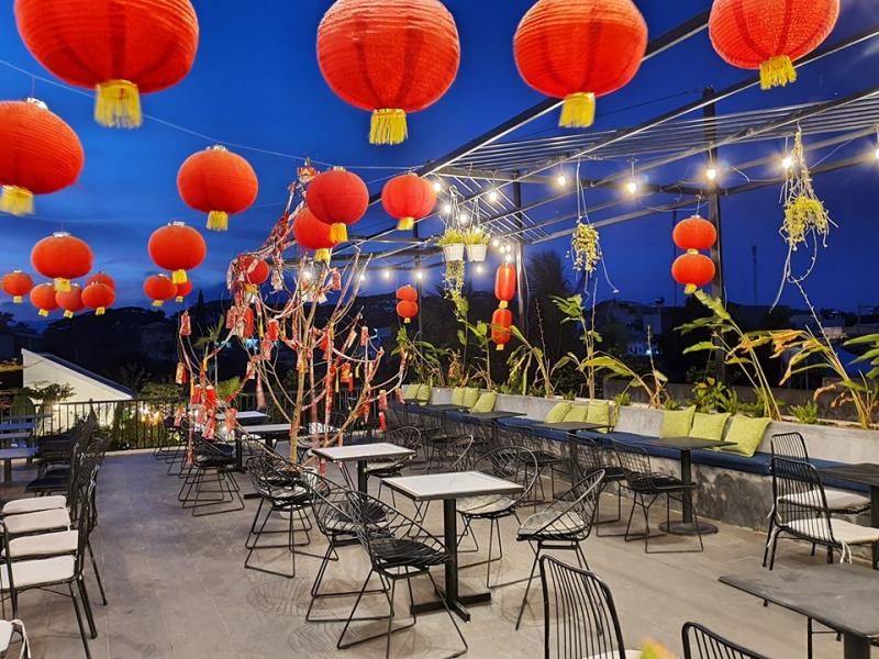 Map Bistro Cafe quán cafe ngon có view đẹp được yêu thích nhất ở Gia Lai