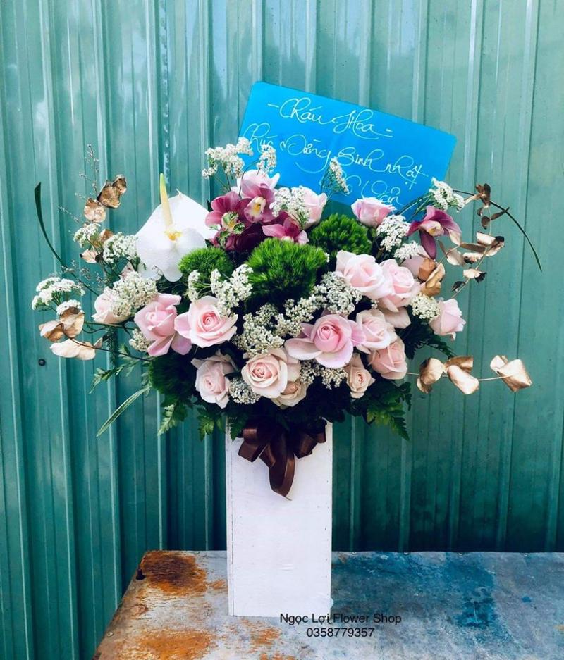 Ngọc Lợi Flower Shop hoa tươi đẹp nhất TP. Pleiku, Gia Lai