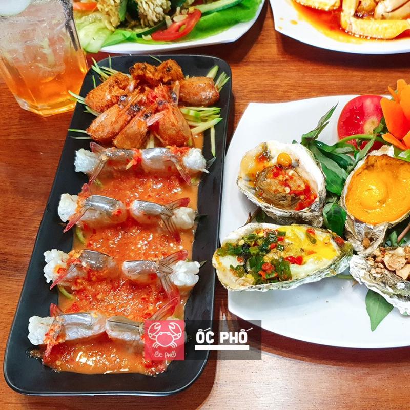 Ốc Phố nhà hàng ngon nhất tại TP. Pleiku, Gia Lai