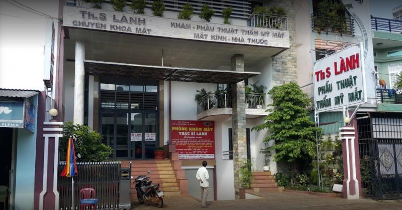 Phòng khám mắt Thạc sĩ Lành khám mắt uy tín nhất TP. Pleiku, Gia Lai