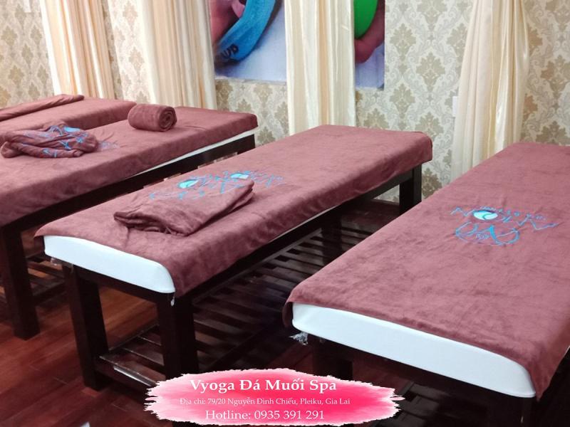 Vyoga Đá Muối SPA địa điểm xông hơi, massage trị liệu tại Pleiku, Gia Lai