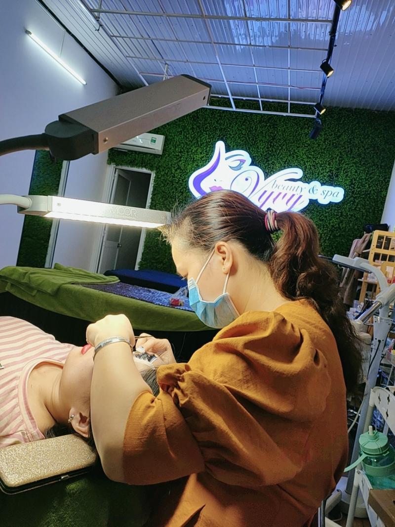 VyVy Beauty & Spa địa chỉ xăm mí mắt đẹp và uy tín nhất TP. Pleiku, Gia Lai